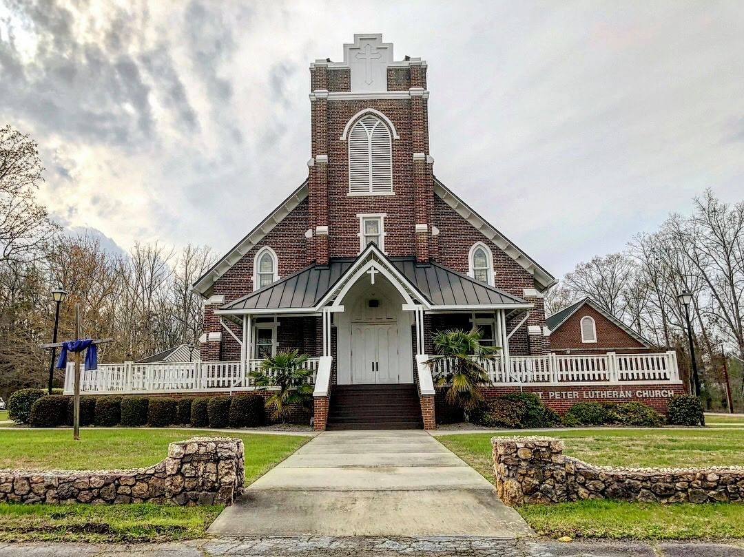 The St. Peter Lutheran Church was founded in 1794. This is their third structure since that time. This current building was built in 1936