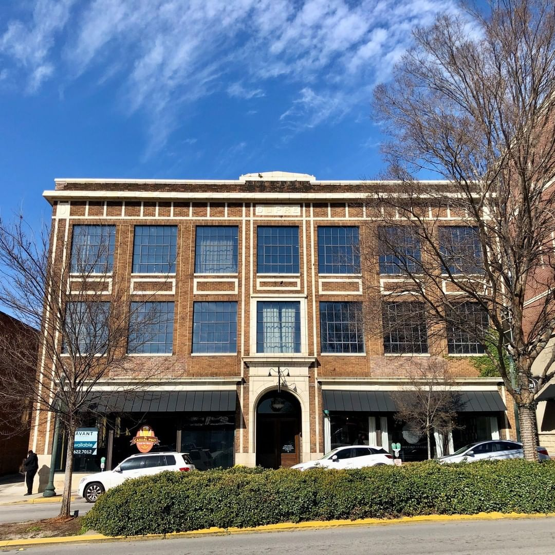 The DuPre Motor Company building was built in 1919 by Ernest M. DuPre.  DuPre was born in Due West, SC in 1876 and moved to Columbia in 1890. DuPre Motors was a Ford Dealership and DuPre was instrumental in getting Henry Ford himself to donate a tractor to Clemson College