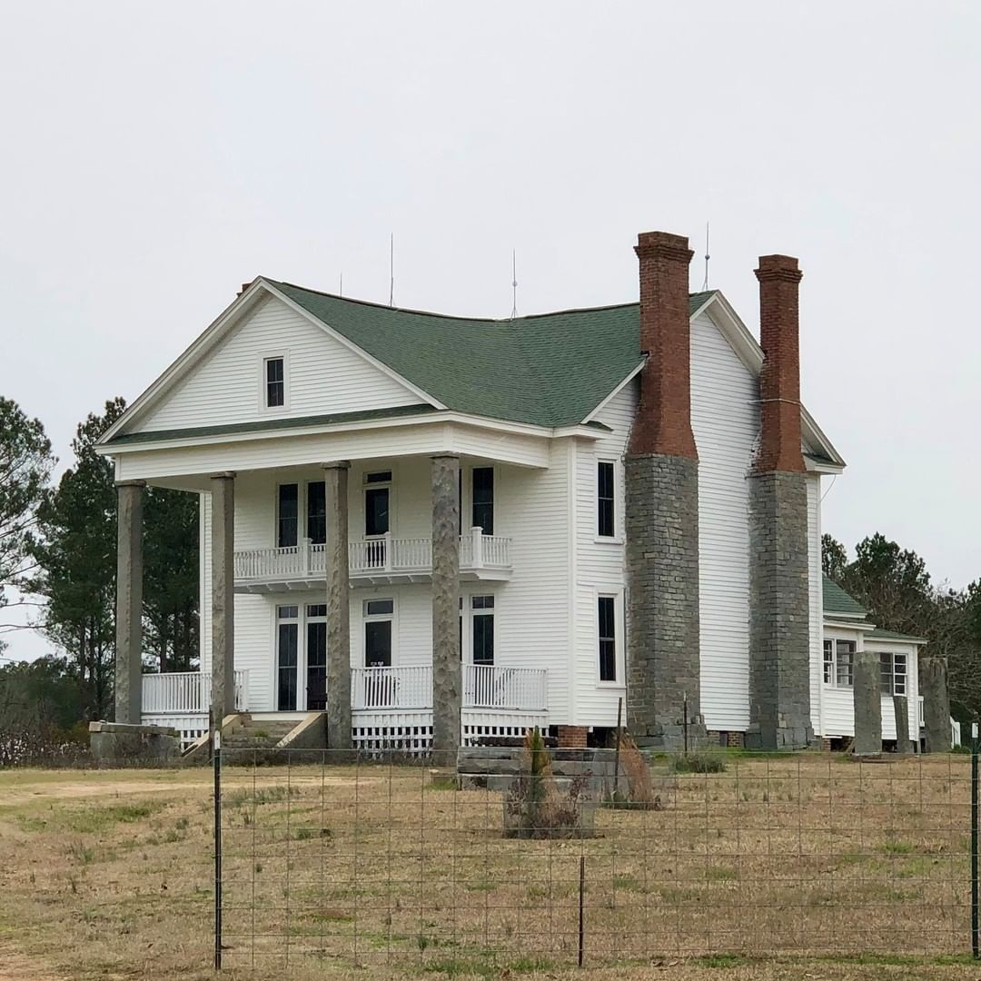 The Russell-Heath House was built in ca. 1830 by William Russell Jr. In 1869, it was purchased by James R. Magill, a prominent farmer and politician in Kershaw County. in 1905, Stewart W. Heath, a local granite quarry owner, purchased the house and remodeled it
