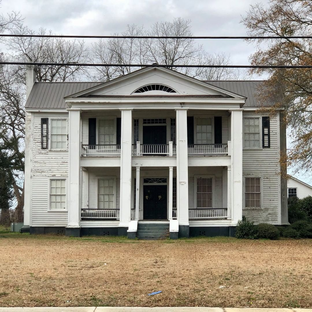 The Spencer House was constructed ca. 1845. It was constructed by Charles Spencer, a leading Bishopville merchant of the nineteenth century. Spencer, a native of Connecticut, moved to Bishopville in the early 1840s and along with his partner and relative, William Rogers, he operated one of Bishopville's most prominent stores of the mid-nineteenth century. Spencer also served as Bishopville's postmaster from 1845 to 1866