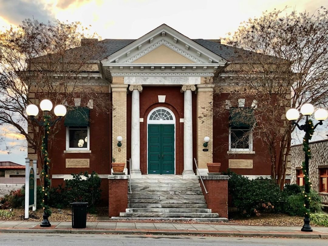 The Carnegie Library of Anderson was built in 1907