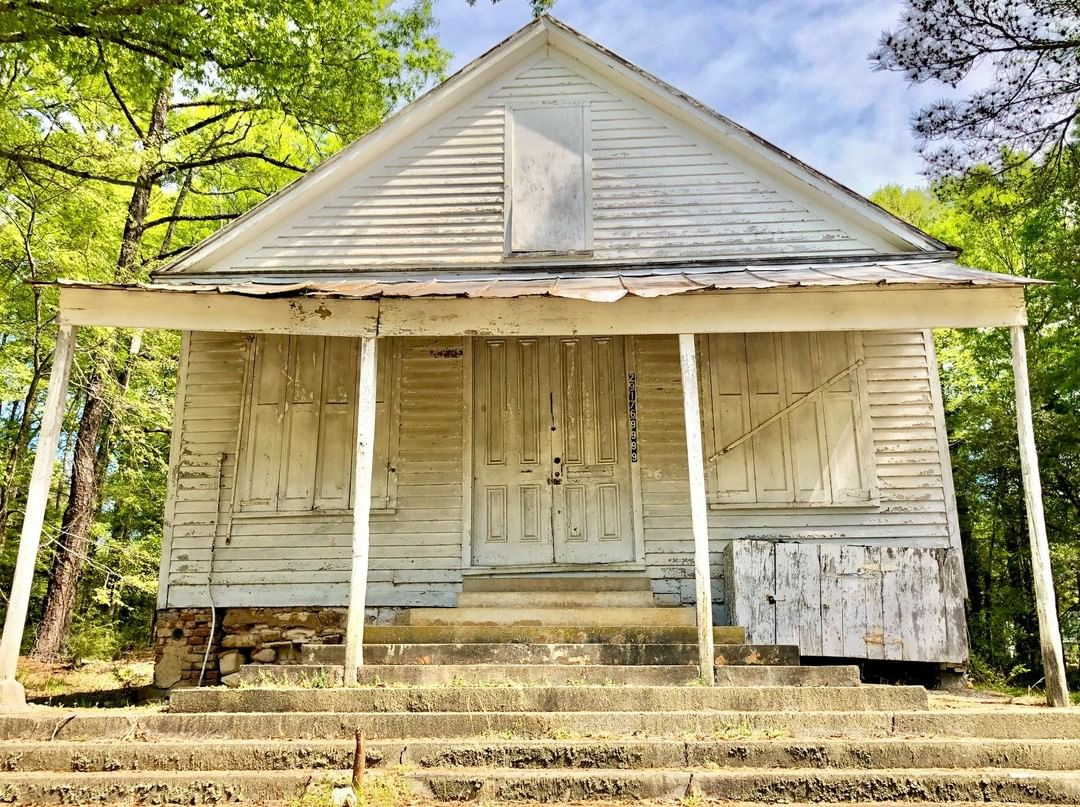 The T. G. Patrick Store was built ca. 1876. The Patrick family moved to the area from York County around 1870 and was instrumental in developing the White Oak community by building houses, stores, and a church. Thomas G. Patrick opened a general merchandise store around 1876 which served the surrounding rural area