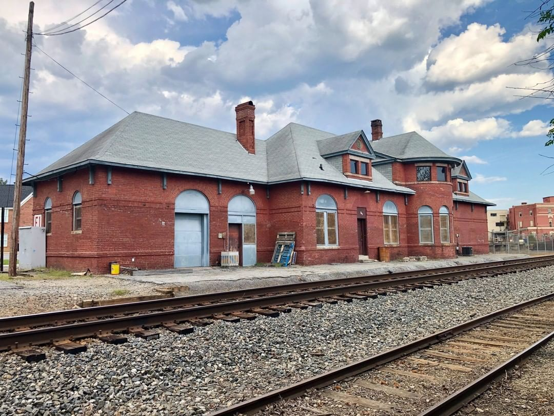 The Union Depot was built in 1902 as a passenger rail depot