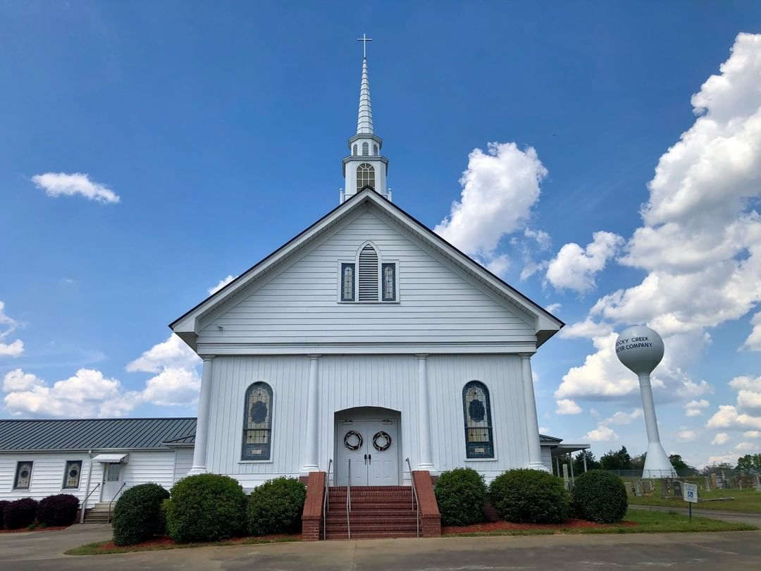 The Mt. Joy Baptist Church in Kelton (Jonesville) was organized in 1876. This building was erected in 1924. This church was mainly organized through the ministerial labors of Elder T. J. Taylor and constituted November 30th, 1876