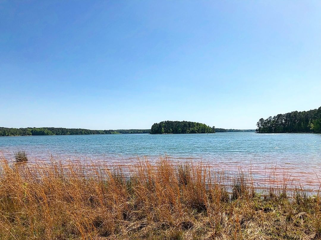Calhoun Falls State Park is located on the shores of Lake Russell. Lake Russell is one of the least developed lakes in South Carolina