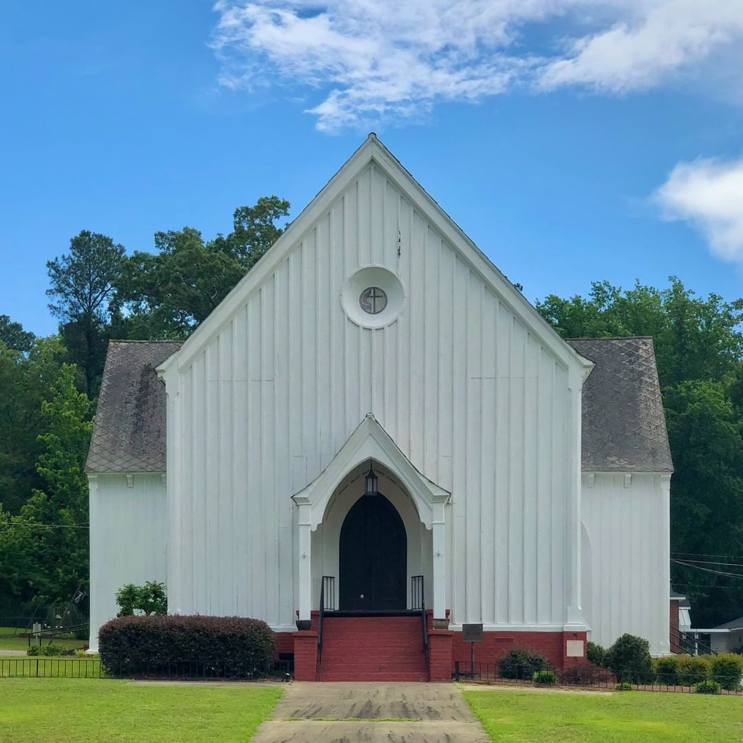 The St. John UMC in Graniteville was completed in 1848 and was designed by J. B. White of Charleston. Graniteville founder, William Gregg, donated the land to churches if they utilized reputable architects to design the church
