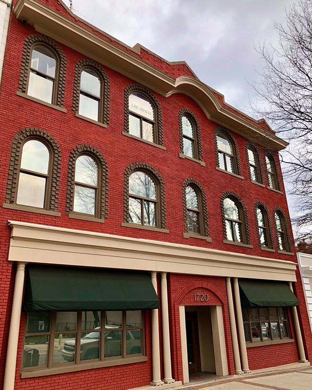 This building was built for the L. W. Dickerson & Co.'s Furniture store in 1912. It was used primarily as a series of furniture stores, including Rustin's and an early location for Haverty's in 1917